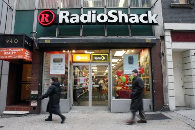 Le détaillant américain de produits électroniques RadioShack (RSH) a... (Photo archives Getty Images)