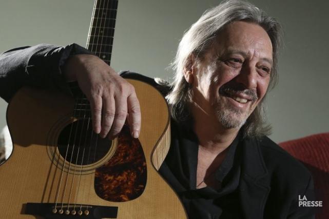Serge Fiori n'avait pas connu pareille inspiration depuis les trois albums... (Photo: Martin Chamberland, La Presse)