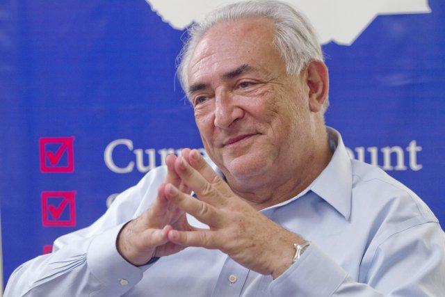 Parmi les quatorze personnalités politiques proposées, Dominique Strauss-Kahn... (PHOTO ALI NGETHI, AFP)