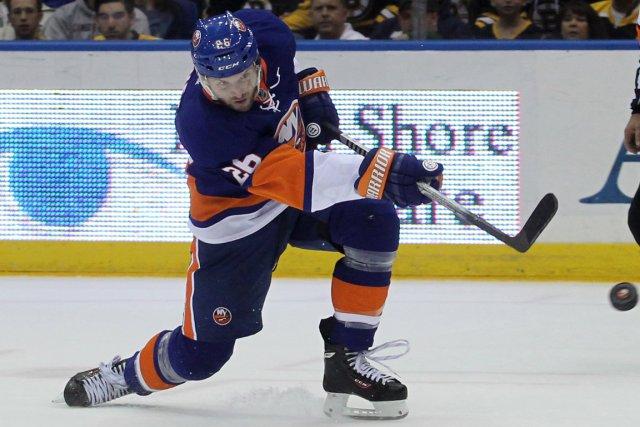 Thomas Vanek ne veut vraisemblablement pas rester avec... (Photo Brad Penner, USA Today)