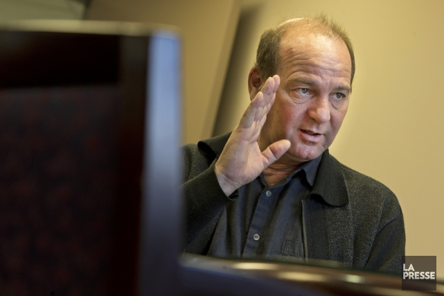 Yves Ouellet, porte-parole de l'Alliance syndicale, qui représente... (Photo Robert Skinner, La Presse)