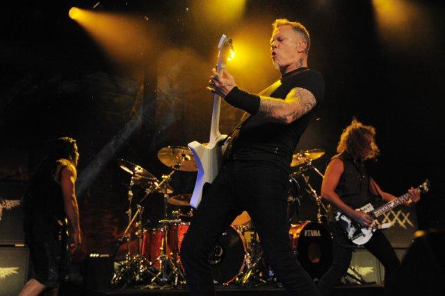 Metallica... (Photo: Reuters)