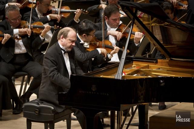 Marc-André Hamelin jouera en compagnie de l'OSM le... (Photo: archives La Presse)