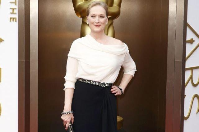 Meryl Streep à la soirée des Oscars, dimanche.... (Photo: Reuters)