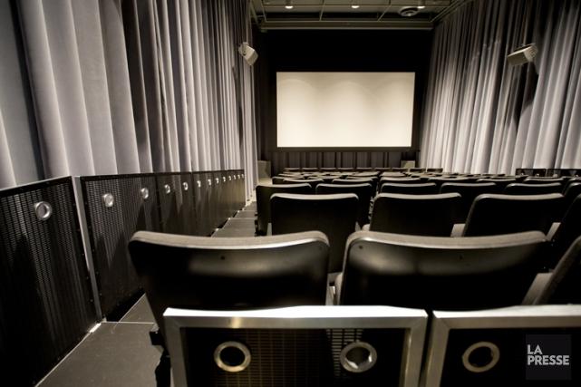 Salle de projection dans le Centre PHI.... (Photo Alain Roberge, archives La Presse)