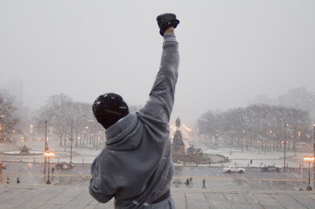 Sylverter Stallone, dans son rôle de Rocky Balboa.... (Photo fournie par MGM Films)