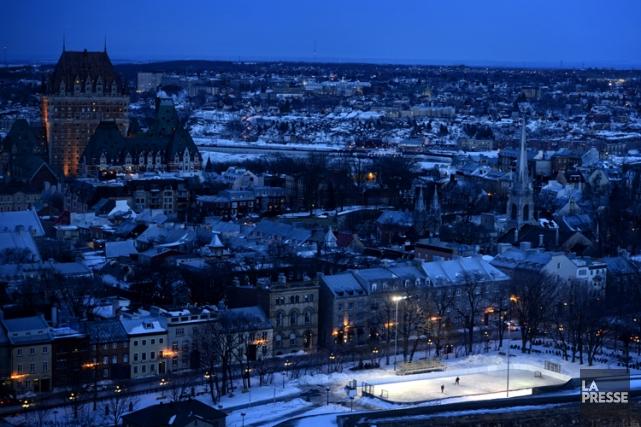 Le Vieux-Québec fait partie des sites menacés selon... (Photo: Bernard Brault, La Presse)