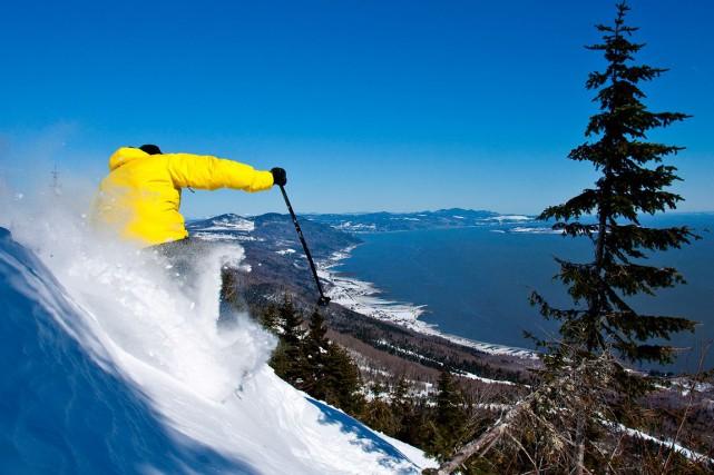 L'augmentation du nombre de jours-ski au Massif de... (Photo fournie par le Massif de Charlevoix)