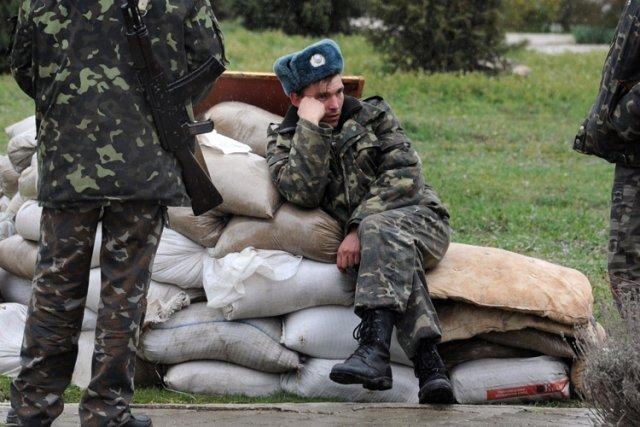 Pour la première fois, les forces russes qui... (Photo: AP)