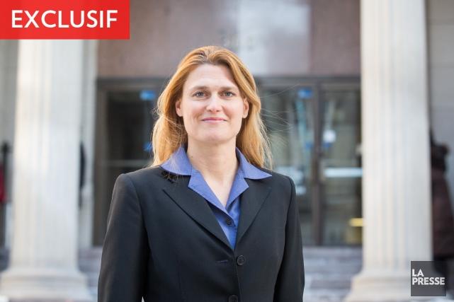 Geneviève Blouin, la présidente du conseil d'administration du... (PHOTO OLIVIER PONTBRIAND, LA PRESSE)