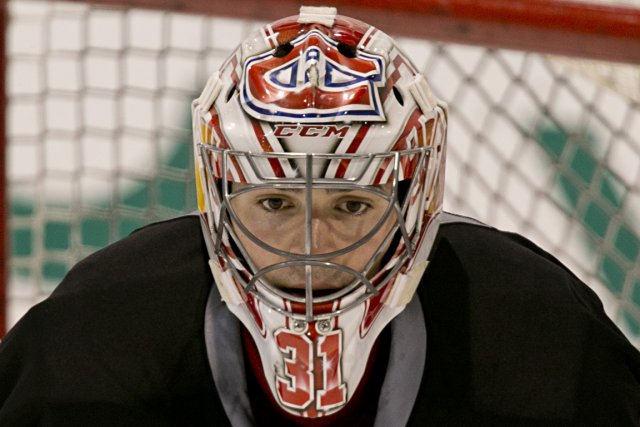 Carey Price a précisé hier qu'il serait capable... (Photo David Boily, La Prese)