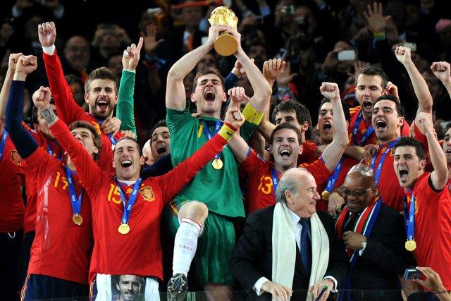 Dans les six dernières années, l'équipe d'Espagne a... (Photo Javier Soriano, AFP)