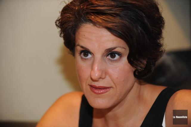 Djemila Benhabib... (Photo: Sylvain Mayer Le Nouvelliste)
