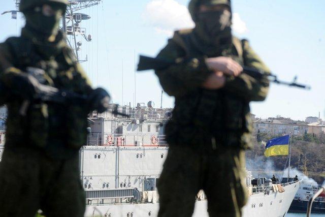 La Crimée est contrôlée en grande partie par... (PHOTO VIKTOR DRACHEV, AFP)