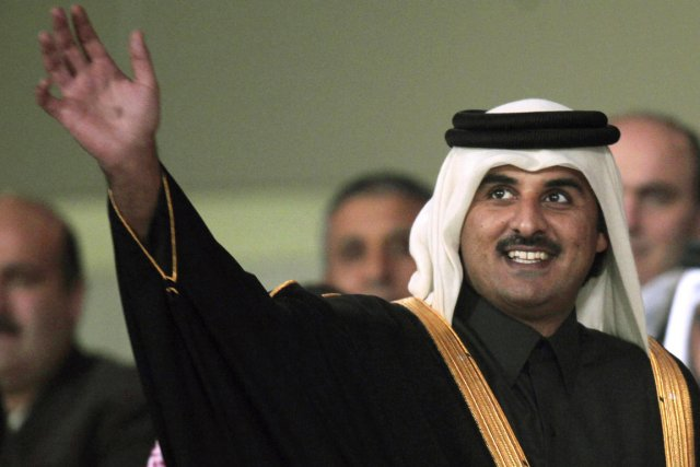 L'émir du Qatar, cheikh Tamim ben Hamad Al-Thani,... (PHOTO FADI AL-ASSAAD, ARCHIVES REUTERS)