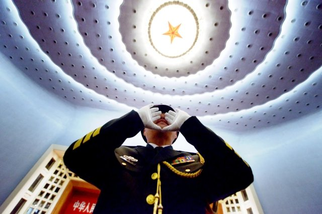 Le Pentagone a ainsi estimé que la Chine... (PHOTO WANG ZHAO, AFP)