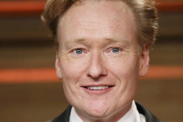 Conan O'Brien aux Oscars, dimanche dernier.... (Photo: Reuters)