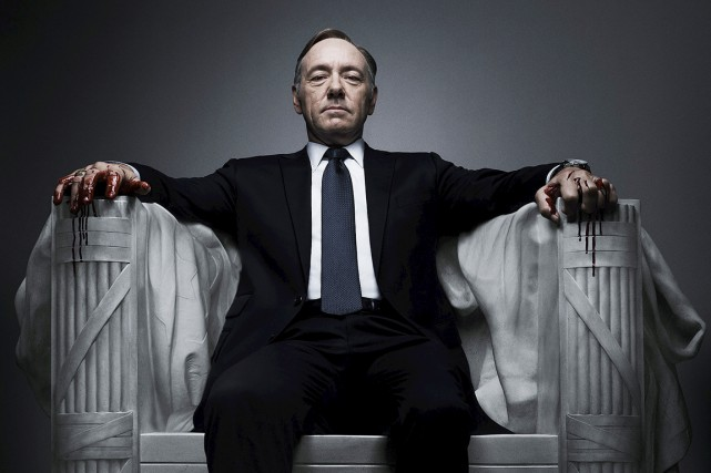 House of Cards... (PHOTO FOURNIE PAR NETFLIX)