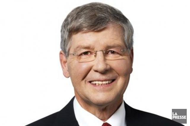 Le député Norbert Morin...