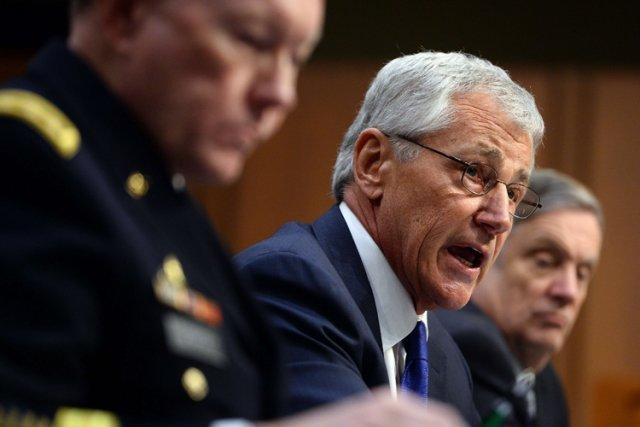 Le secrétaire à la Défense américain, Chuck Hagel.... (Photo: AFP)