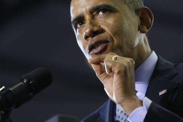 Le président Barack Obama.... (PHOTO ARCHIVES REUTERS)