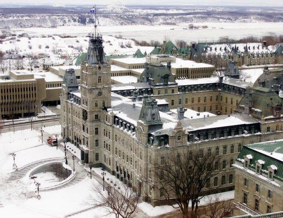 Le parlement de Québec, où siège l'Assemblée nationale.... (Photo archives)