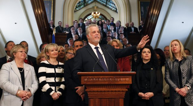L'auteure soutient que les appuis envers le Parti... (PHOTO Mathieu BÉlanger, Reuters)