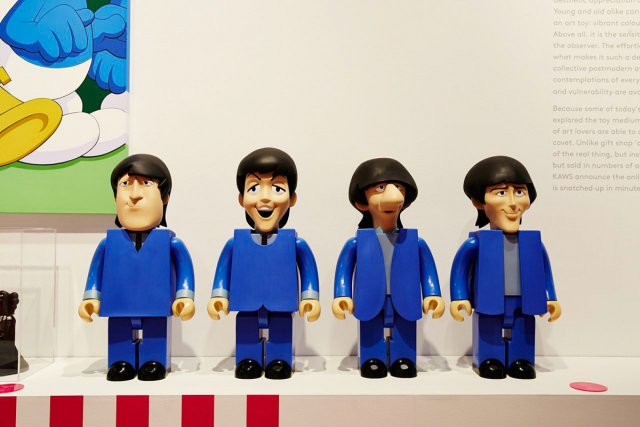 The Beatles Kubrick Set de Medicom Toy fait... (Photo: fournie par Design Exchange)