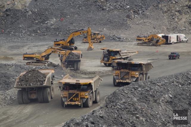 L'extraction minière et d'hydrocarbures a aussi été très... (PHOTO IVANOH DEMERS, ARCHIVES LA PRESSE)