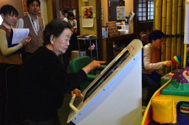 Plus qu'une simple salle de jeux, ce centre... (PHOTO YOSHIKAZU TSUNO, AFP)