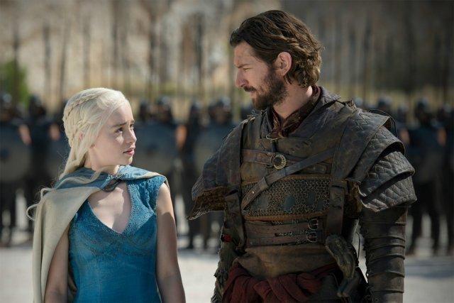 Daenerys Targaryen et Daario Naharis dans une scène... (Photo: fournie par HBO)