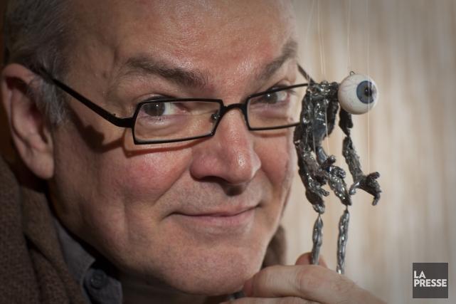 Le marionnettiste allemand Frank Soehnle débarque à Montréal... (Photo: André Pichette, La Presse)