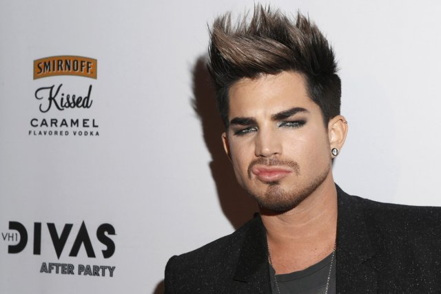 Adam Lambert... (Photo: archives AP)