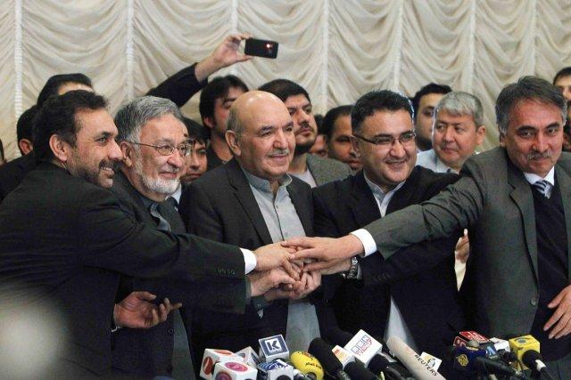 «J'annonce, avec mon équipe, mon soutien à M.Rassoul»,... (PHOTO OMAR SOBHANI, REUTERS)