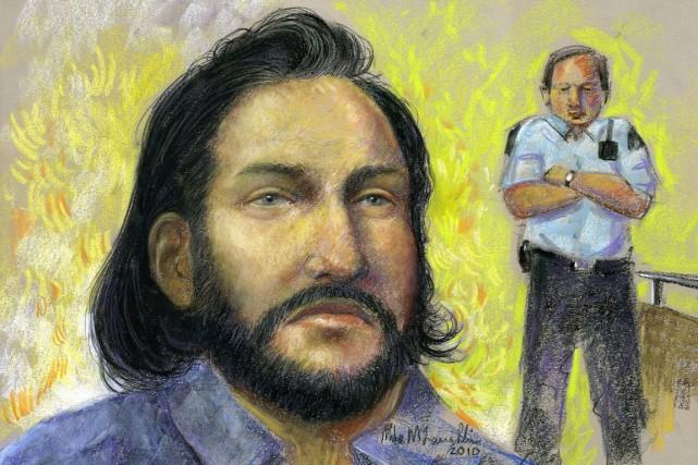 L'un des accusés dans l'opération Diligence, le Hells... (Illustration fournie par Mike McLaughlin, archives)
