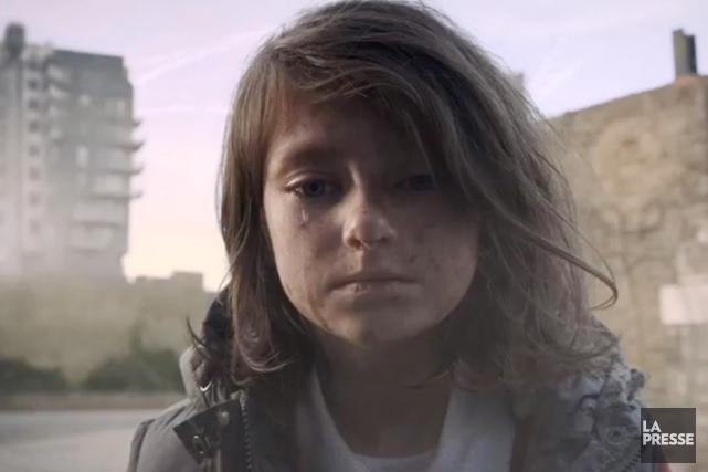 Et si les enfants syriens étaient britanniques?... (IMAGE SAVE THE CHILDREN)