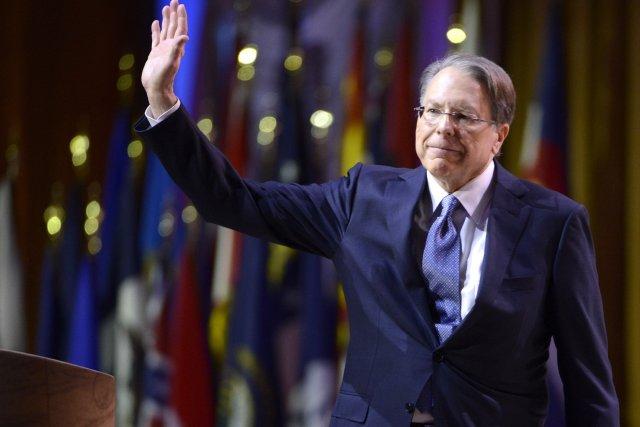 Wayne LaPierre, directeur de la NRA... (Photo Mike Theiler, Reuters)