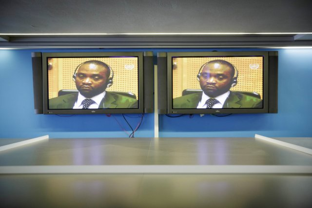 Surnommé Simba (le lion), Germain Katanga était le... (PHOTO PHIL NIJHUIS, AFP)