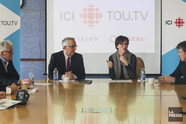 Marie-Philippe Bouchard, directrice générale Musique et Services numériques... (Photo: Édouard Plante-Fréchette, La Presse)