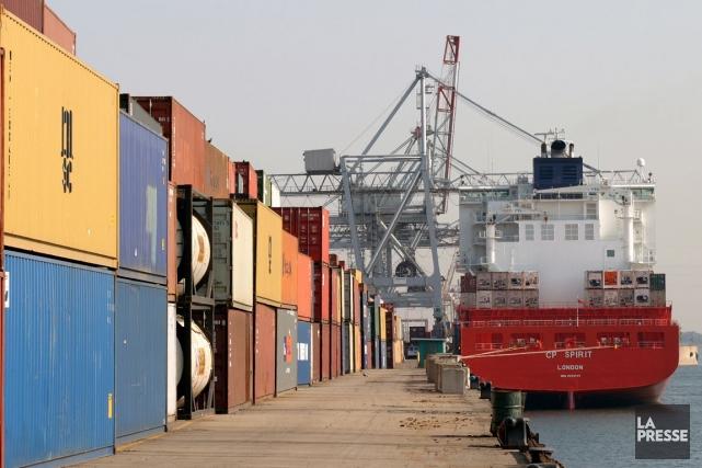 La valeur des exportations a reculé à 42,8... (Photo Stéphane Champagne, archives La Presse)