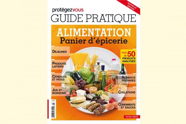 Guide pratique Alimentation - Panier d'épicerie publié par... (Photo fournie par Protégez-vous)