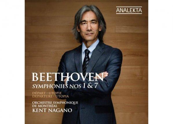 L'avant-dernier disque de l'intégrale des neuf Symphonies de Beethoven de Kent...