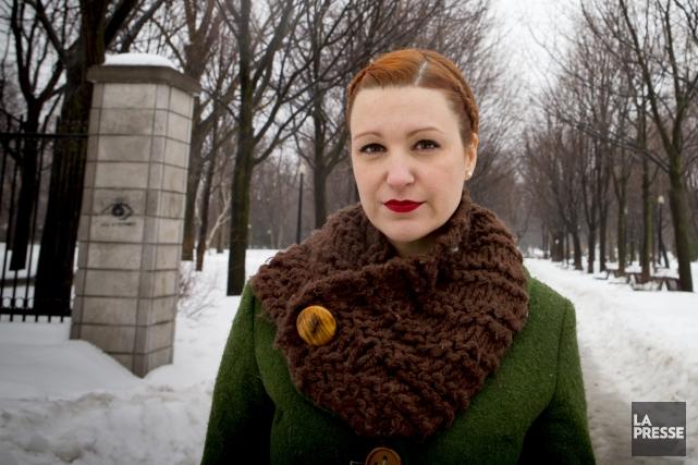 Geneviève Pettersen, alias madame Chose, vient de faire... (Photo: Alain Roberge, archives La Presse)