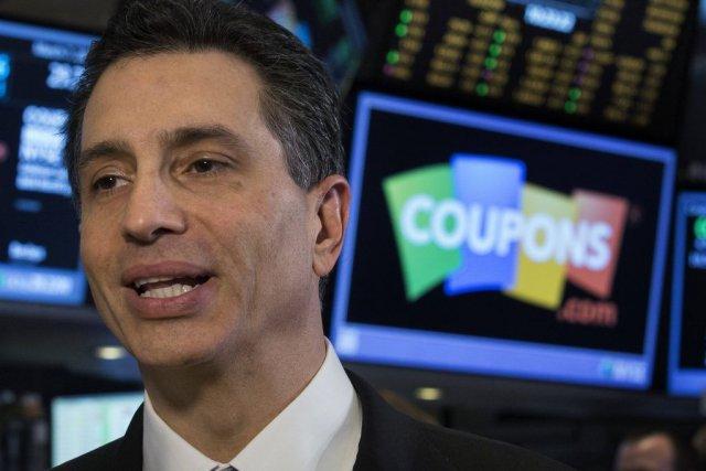 Le président de Coupons.com, Steven Boal.... (PHOTO BRENDAN MCDERMID, REUTERS)