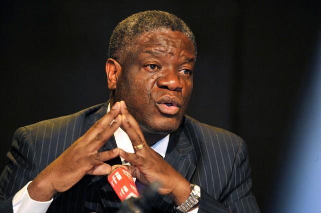 Le Dr Denis Mukwege est un célèbre gynécologue.... (Photo Junior D. Kannah, AFP)