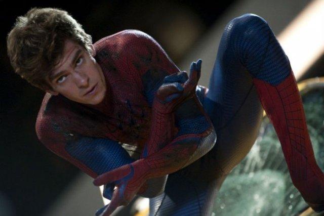 Andrew Garfield tient le rôle de Spider-Man au... (Photo: fournie par Columbia/Sony)