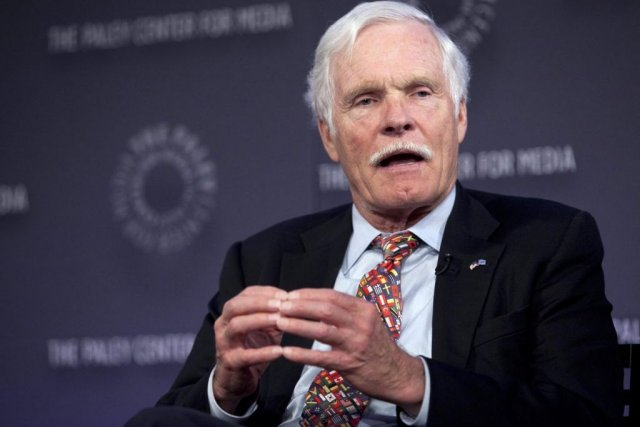 Ted Turner... (Photo: archives Reuters)