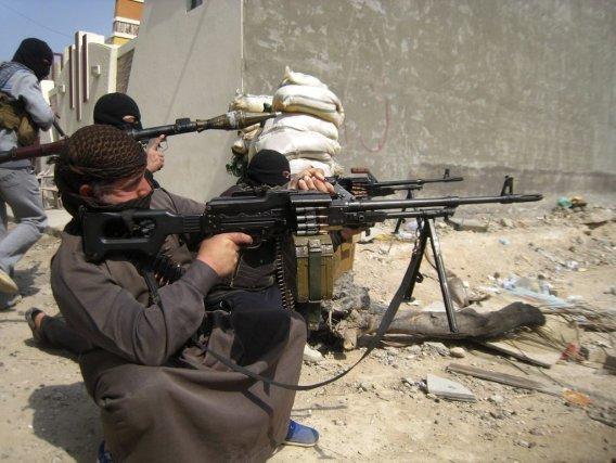 Depuis plus de deux mois, des combattants anti-gouvernementaux,... (STRINGER/IRAQ)