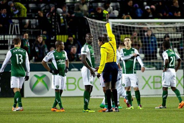 Le lock-out des arbitres de la MLS est... (Photo Craig Mitchelldyer, USA Today)