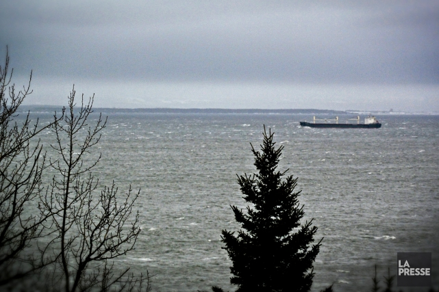 Le Saint-Laurent: une voie navigable et une voie maritime au coeur du Québec et... (Photo Bernard Brault, La Presse)